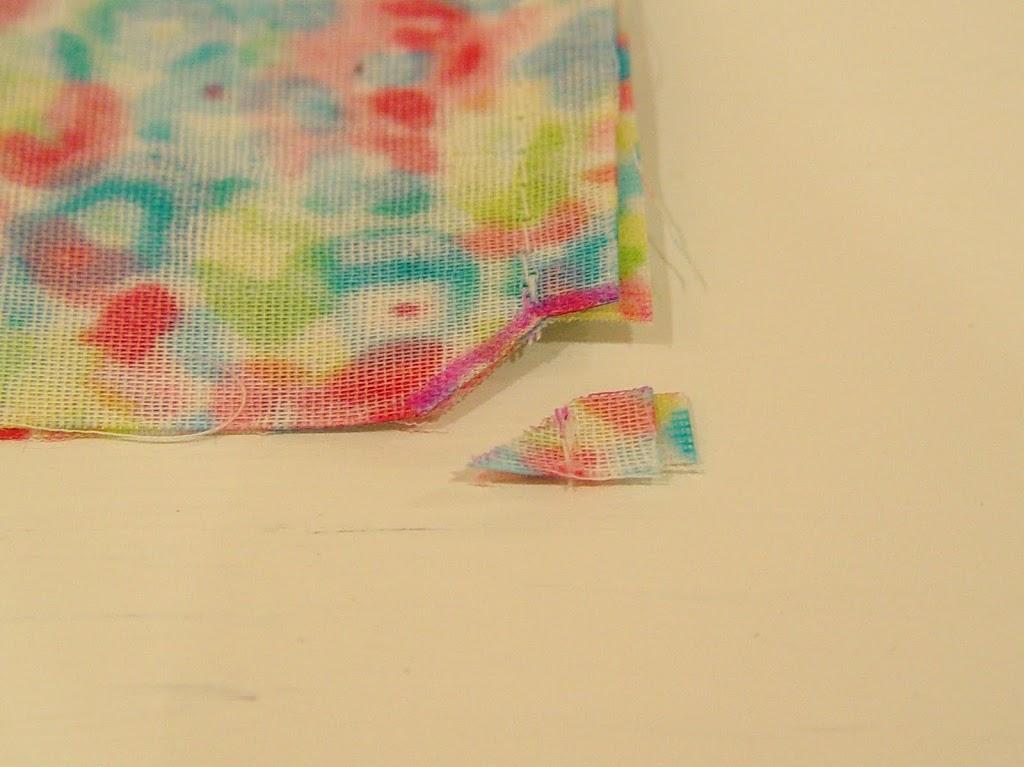 oilcloth mini shopper