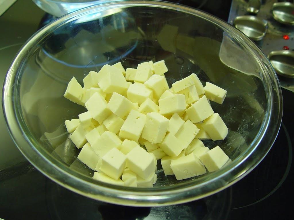 pulling mozzarella