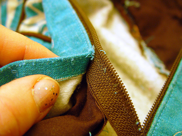 replacing a broken zipper