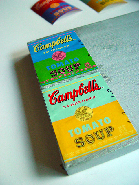 soup label art
