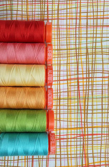 thread quilt block