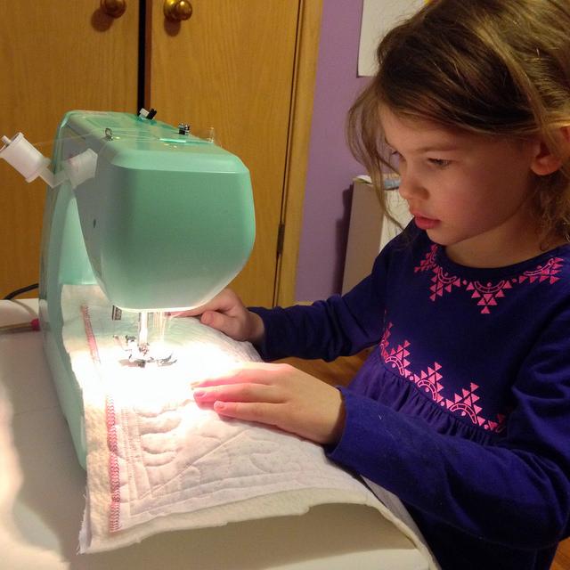 sew a straight line