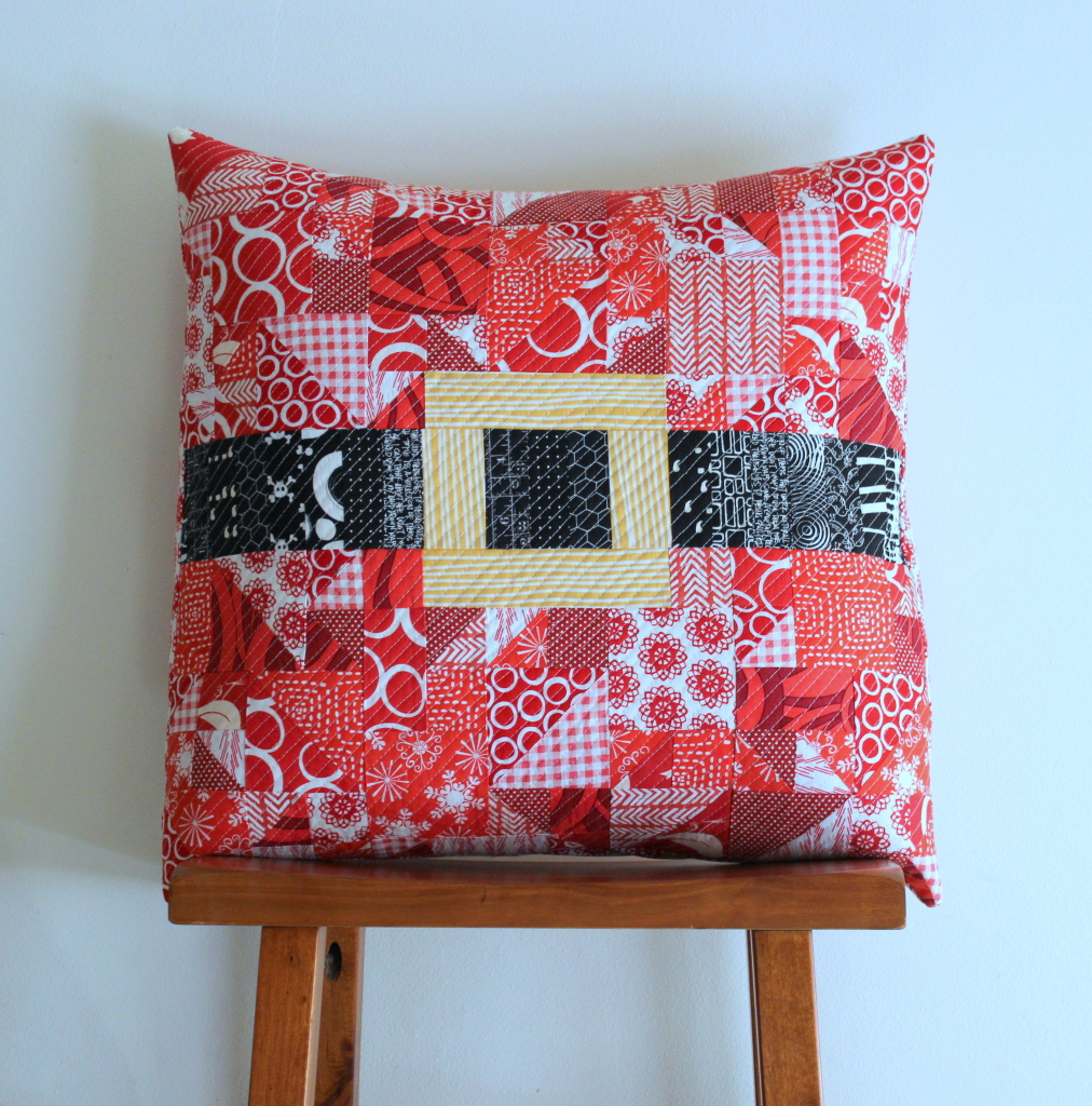 Merry Modern Christmas Pillow