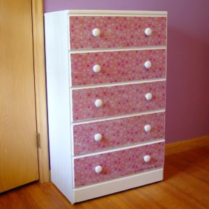 dresser makeover button