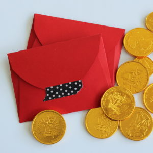 red envelope button